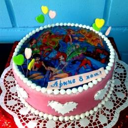 Торт с Винкс_1