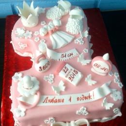 Торт единичка_1