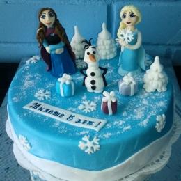 Торт Холодное сердце_1