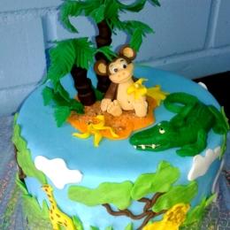Торт с обезьянкой_1