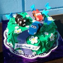 Торт с машинками_1
