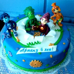 Торт с фиксиками_1