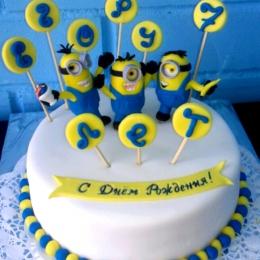 Торт с миньонами_1