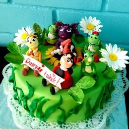 Торт с Лунтиком_1