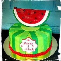 Торт Арбузная долька_1