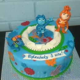 Торт Фиксики и пони_1