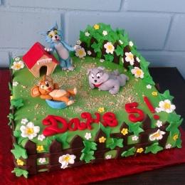 Торт Том и Джерри_1