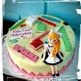 Торт для будущей школьницы_1