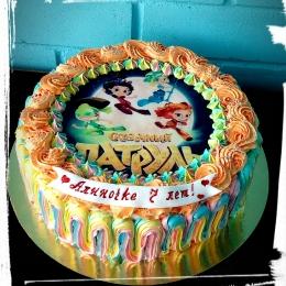 Кремовый торт Сказочный патруль_1