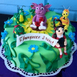 Торт лунтик и его друзья_1