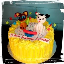 Торт Котёнок по имени Гав_1