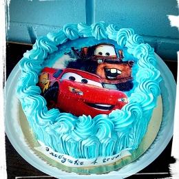 Торт кремовый Маквин и Мэтр_1