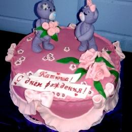 Торт с мишками тедди. От 2,5кг_1