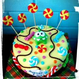 Торт с Ам нямом. Вес 2,5кг_1