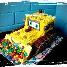 Торт кремовый Трактор. Вес от 3кг_1