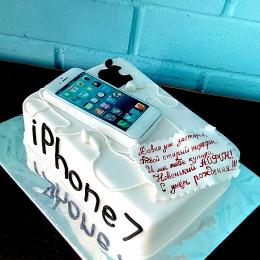 Торт Айфон 7_1