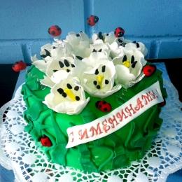 Торт с тюльпанами_1