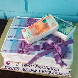 Торт Пачки денег_1