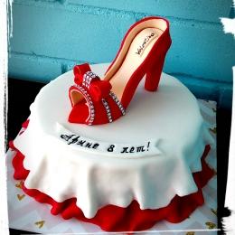 Торт с туфелькой_1