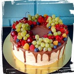 Торт с фруктами_1