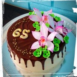 Торт с орхидеями_1