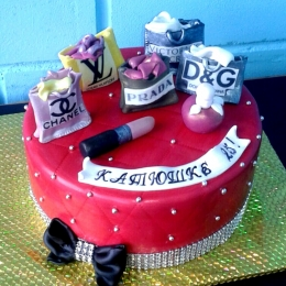 Торт для модной леди_1