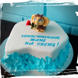 Торт Льдина с мамонтенком_1