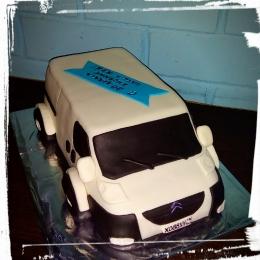 Торт машина Ситроен_1