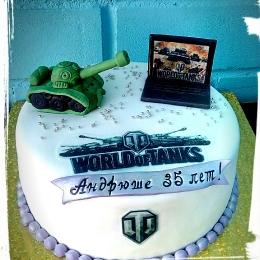 Торт Tanks of world_1