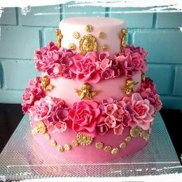 Торт свадебный Барокко_1