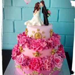 Торт свадебный Барокко_2