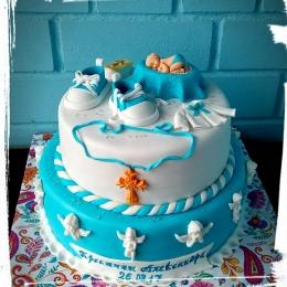 Торт на Крещение 2 яруса_1
