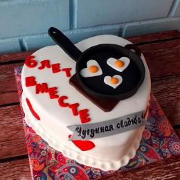 Торт на 6 лет свадьбы_1