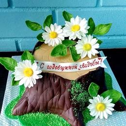 Торт на годовщину свадьбы 5 лет_1