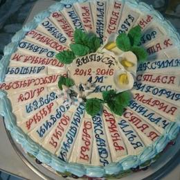 Торт на выпускной_1