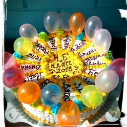 Торт на выпускной_2